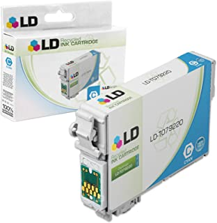 LD Products Remanufactured Ink Cartridge Replacement for Epson T0792 ( Cyan )