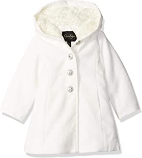 Girls' Dress Coat Jacket with Cozy Collar