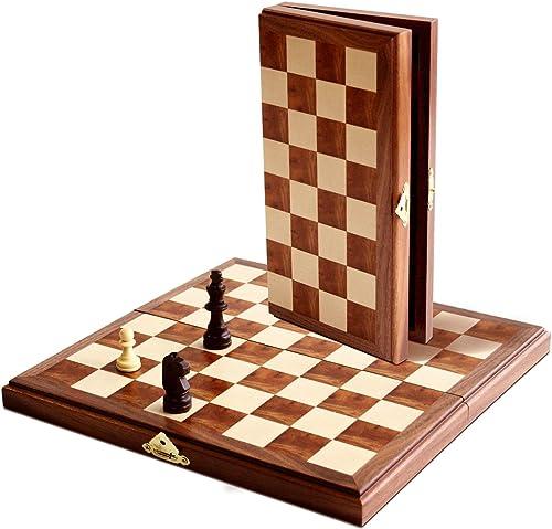 comprar marca Magnetic Magnetic Magnetic Travel Walnut Chess Set  nueva marca