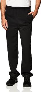 Gildan Men's Fleece Elastic Bottom Sweatpants with Pockets, Style G18100
