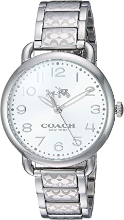 COACH Delancey 36mm Etched Bracelet Watch