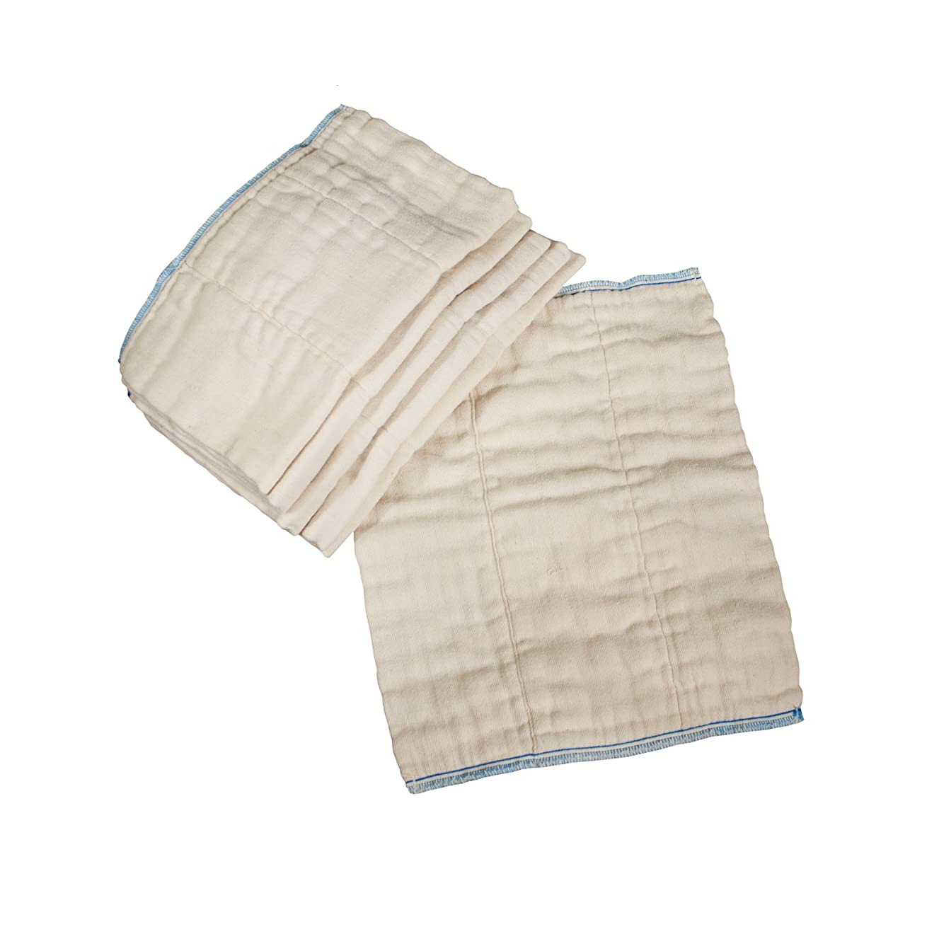 OsoCozy Factory Seconds Prefold diapers, Infant 4x8x4, Unbleached