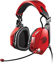 Mad Catz F.R.E.Q.5 Stereo Gaming Headset for PC and Mac, Red