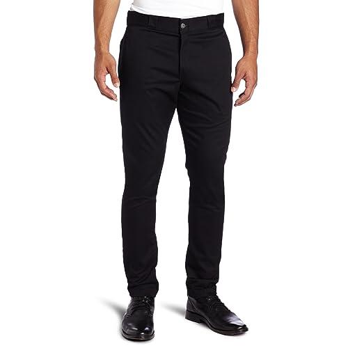 4143934ab3a Dickies Men's Skinny Straight-Fit Work Pant