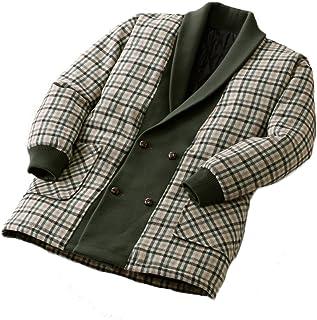 匠 ウール入り裏キルト中綿入りジャケット 41073 (M)