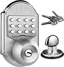 Keyless Entry Door Lock Deadbolt Stainless Steel 304 Keypad Mechanical Digital Combination Double Security (Pass Code Or K...