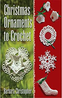 Dover Publications Books, Christmas Ornaments to Crochet