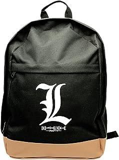 Death Note ABYBAG151 - Mochila,45cm, símbolo L (tamaño grande)