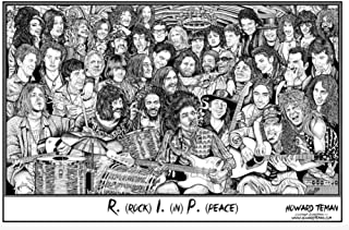 rock in peace poster