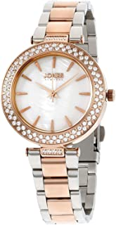 Jones New York Women's Mother of Pearl Dial Stainless Steel Band Watch - 11700R528-956