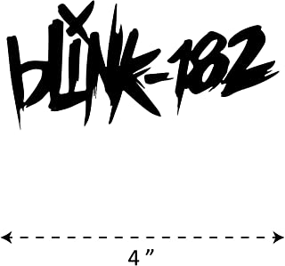 (TK-238) Blink-182 - Waterproof Vinyl Sticker for Laptops Tablets Cars Motocycles Bicycle Skateboard Luggage Or Any Flat Surface (4