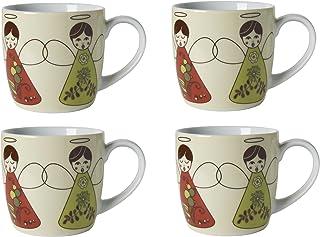 Now Designs Angel Mugs, Set of 4