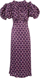 ROTATE BY BIRGER CHRISTENSEN Luxury Fashion Womens 900652PANSY Purple Dress   Spring Summer 20