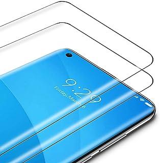 TAMOWA Skärmskydd för Xiaomi Mi 10/Mi 10 Pro, 2-pack, 3D premium härdat glas 9H skyddande okrossbar film, anti-repor, ant...