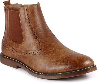 Metrocharm MC139 Men's Formal Dress Casual Ankle Chelsea Boot
