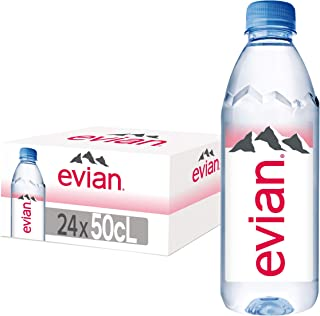 Evian Natural Mineral Water 24X500ml