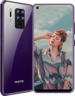 【2020】OUKITEL C18 Pro 4G SIMフリースマートフォン、6.55インチHD+ スクリーン全画面表示携帯電話、16MPクアッドカメラ、Helio P25 8コア4GB + 64GBスマホ本体、4000mAh大型バッテリー A...