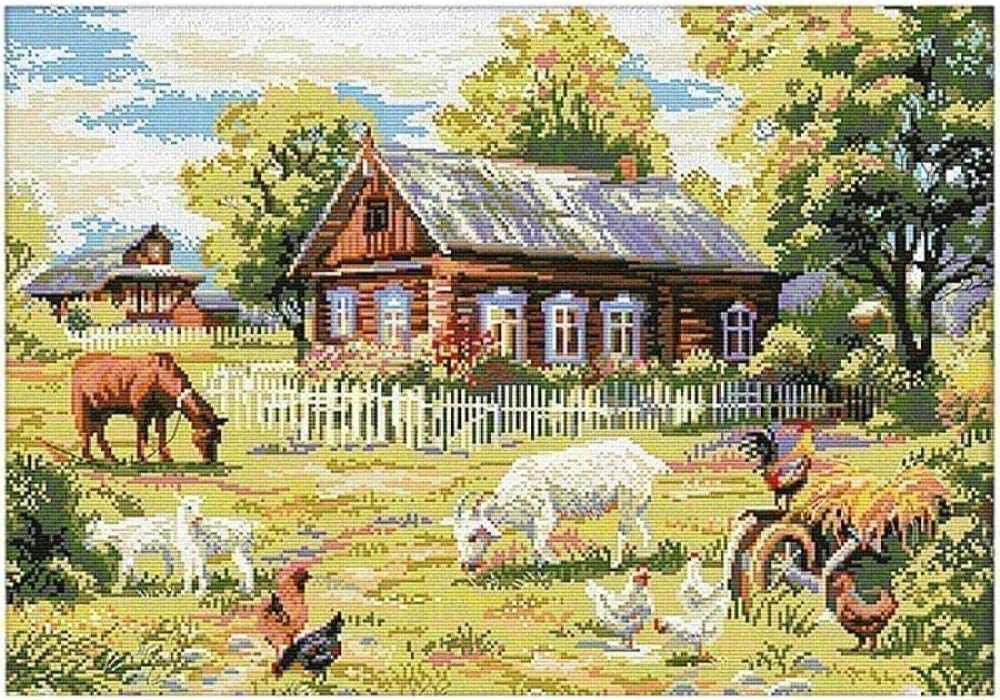 Cross Stitch Max 44% OFF Counted Kits Full of Embroidery Starter Range Credence