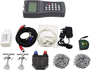 Hanchen TDS-100H Ultrasonic Flowmeter Handheld Digital Liquid Flow Meter with M2 Sensor (DN 50-700mm)