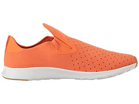 Blanco Caucho Shell Orange Apollo Zapatos Natural nativos Moc Sunset x4XPw0