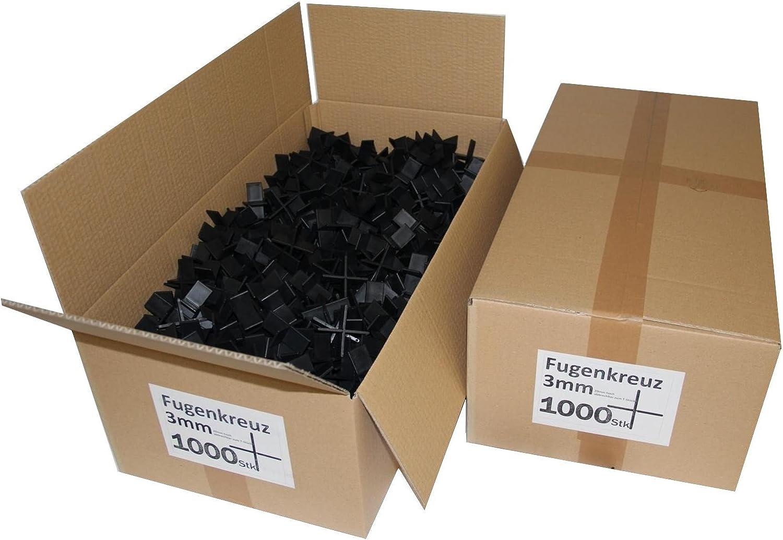Fugenkreuze 3mm, Bauhöhe 20mm, 20mm, 20mm, 1000 Stück im Karton B007WTQ1OQ | Deutschland  a7d7f8