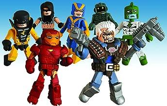 Marvel Minimates Series 32 Mini Figure 2Pack Extremis Iron Man Titanium Man