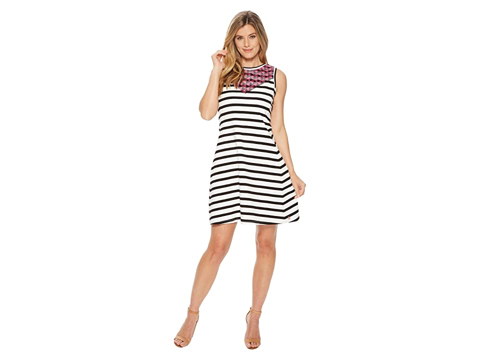 Hatley Sarah Dress (Black Stripes) Women