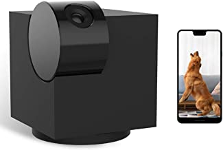 Home Camera, Laxihub P1 Monitor Camera with Two Way Audio and Video, Night Vision, 1080p HD Pet Camera, Compatible with Alexa