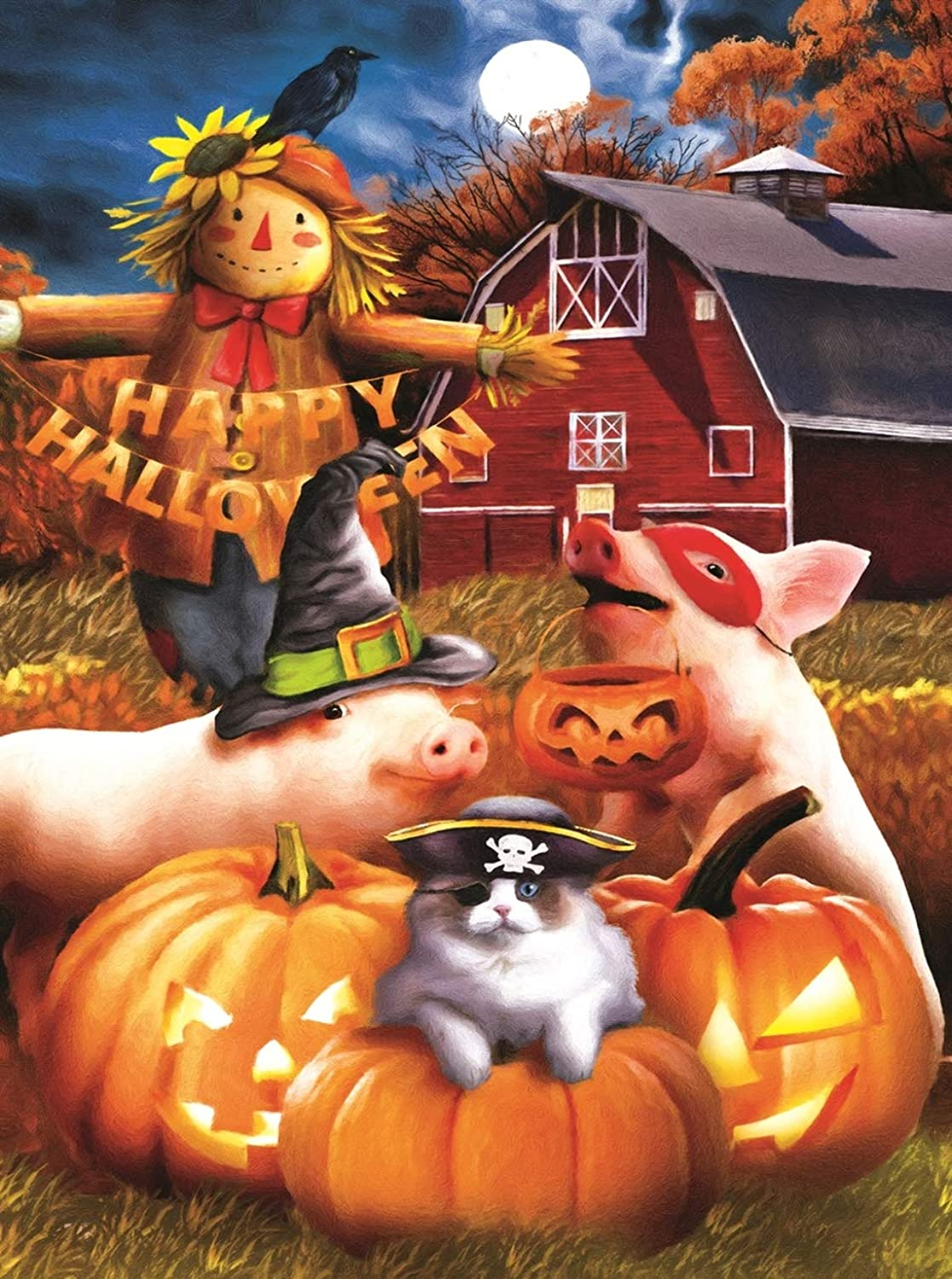 Happy Halloween 1000 pc Jigsaw Puzzle by SunsOut