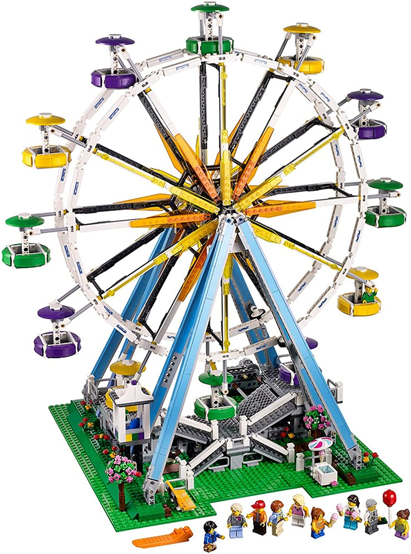 Entrega directa y rápida de fábrica LEGO Creator Noria Noria Noria - Juegos de construcción, 16 año(s), 2464 Pieza(s), 55 cm, 38 cm, 60 cm  punto de venta barato