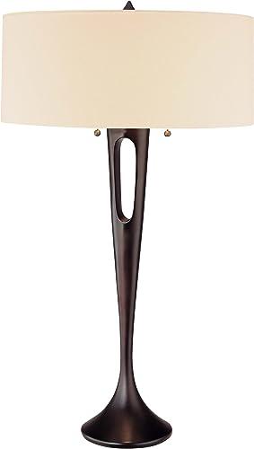 """high quality George online sale Kovacs online sale P516-1-61, Needle, 2 Light Table Lamp, Antique Dorian Bronze, 0.03"""" x 18"""" x 31"""" outlet online sale"""