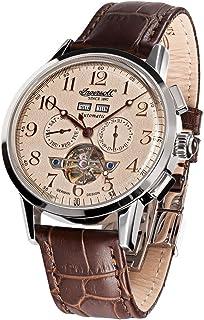 インガーソル 腕時計 自動巻 フルカレンダー オープンハート 限定生産品 Caldwell IN4411CR 並行輸入品