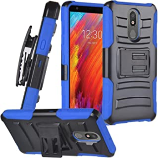 for LG Journey LTE L322DL, LG Arena 2, Tribute Royal, Escape Plus, LG K30 (2019) LM-X320 - Hybrid Armor Phone Case w/Stand...