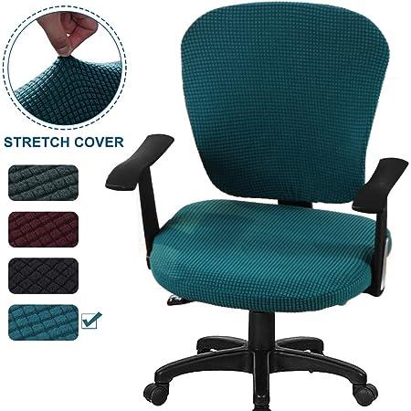 Polyester Spandex Split Stil Computer Stuhl Schutzhülle Home Office
