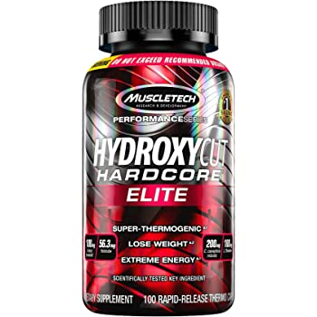 Weight Loss Pills for Women & Men | Hydroxycut Hardcore Elite | Weight Loss Supplement Pills | Energy Pills | Metabolism Booster for Weight Loss | Weightloss Supplements | 100 Pills(package may vary)