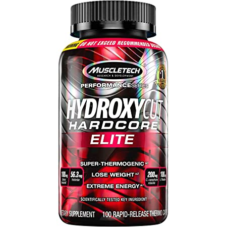 Weight Loss Pills for Women & Men   Hydroxycut Hardcore Elite   Weight Loss Supplement Pills   Energy Pills   Metabolism Booster for Weight Loss   Weightloss Supplements   100 Pills(Package May Vary)