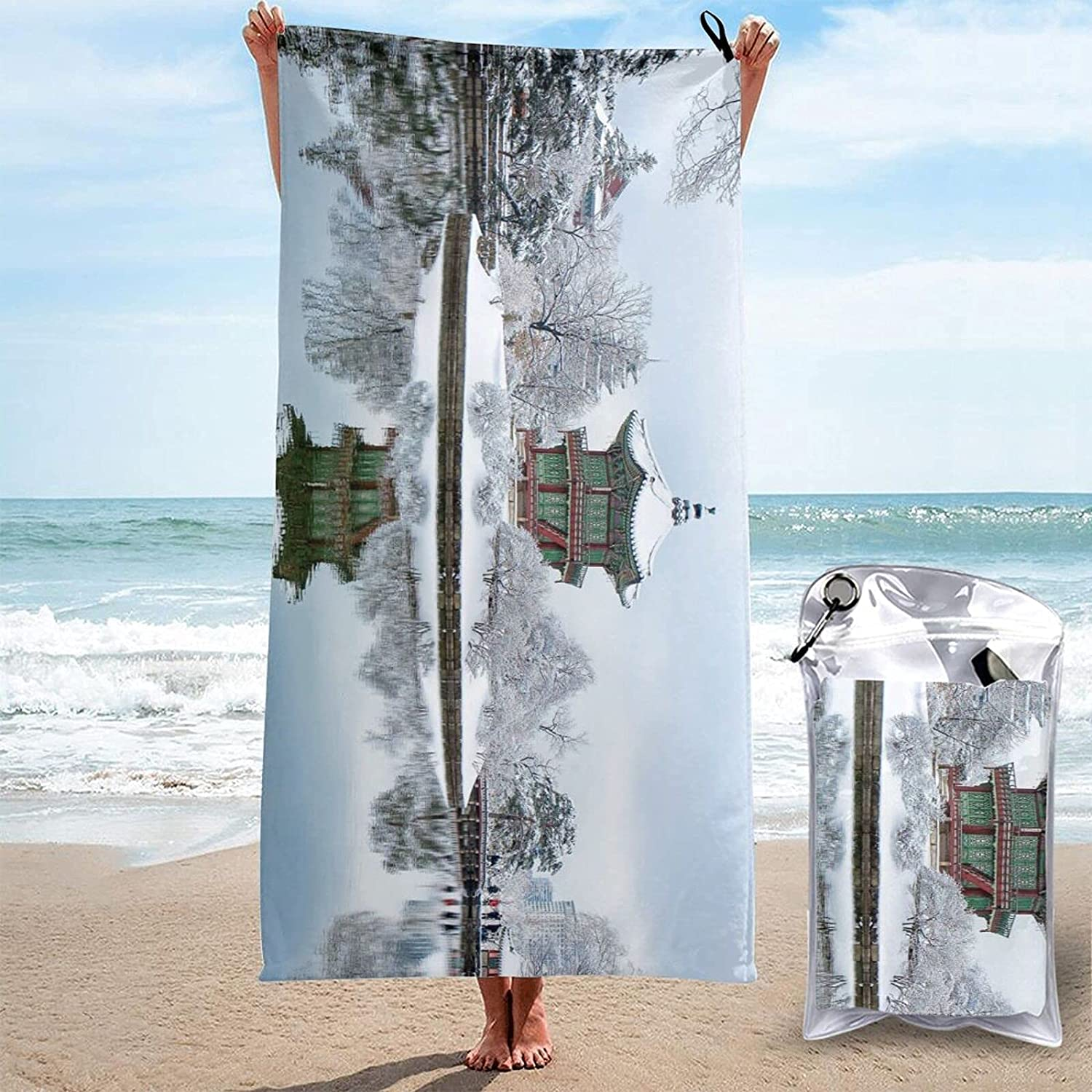 Sunset Seaside Print Quick Max 48% OFF Dry Towel Super Ranking TOP13 Absorbent