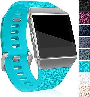 maledan para Fitbit Ionic bandas, clásico pulseras de repuesto para Fitbit Ionic reloj inteligente, grande pequeño