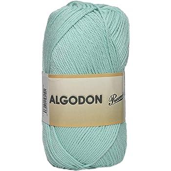 ggh Scarlett - 076 - rosa viejo - Maco algodón para tejer y hacer ganchillo: Amazon.es: Hogar