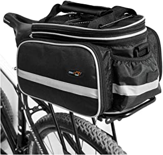 Disconano Waterproof Multi Function Excursion Cycling Bicycle Bike Rear Seat Trunk Bag Carrying Luggage Package Rack Panni...