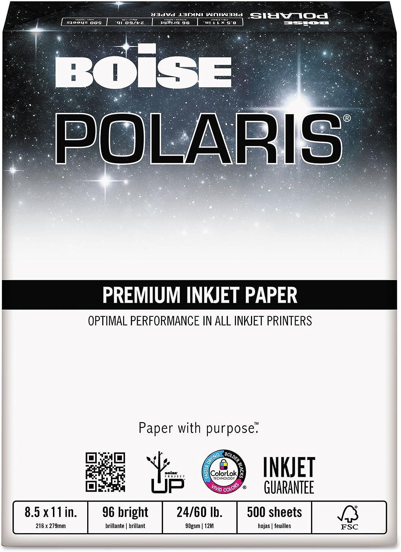 BOISE CASCADE Premium Mehrzweck-Papier, 96 hell, 24 lb, 21,6 x 27,9 cm, Weiß, 500 Blatt (CASPP9624) B004HMAMUK | Diversified In Packaging