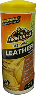 ARMORALL Leather Wipes with bees wax 24 wipes