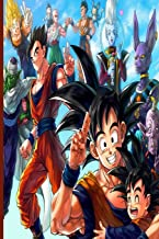 Dragon Ball Z Composition Notes: Blank Anime Lovers Planner Diary Notepad; Great For Teenage Girls Boys Adults; School Composition Lined Notebook Memo ... Home Student Teacher; For Ideas Goals Lists