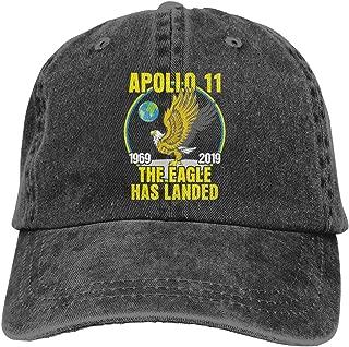 Apollo 11 50th Anniversary Cap Vintage Dad Hat Baseball Adjustable Polo Trucker Unisex Style Headwear for Men Women