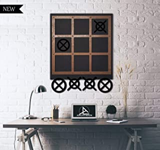 Tubibu Tic-Tac-Toe Magnet Board - Wall Game-Wall Decor
