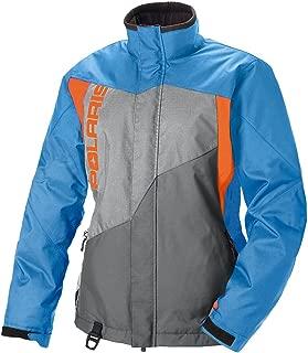 Polaris Women's Diva Jacket Blue/Orange/Large
