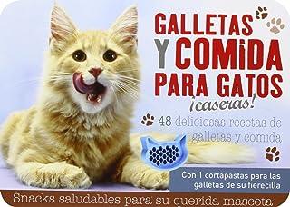 Galletas y comida para gatos