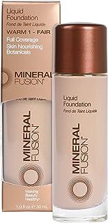 Mineral Fusion Liquid Foundation, Warm 1, 1 Fl Ounce