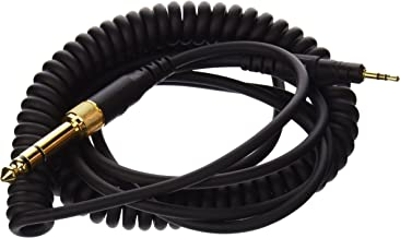 Audio-Technica HP-CC Replacement Coiled Cable for M Series Headphones,Black