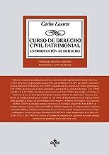 Curso de Derecho Civil patrimonial: Introducción al Derecho (Derecho - Biblioteca Universitaria De Editorial Tecnos)